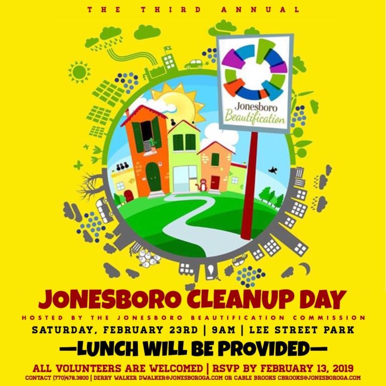 Jonesboro 3rd Annual Clean Up Day